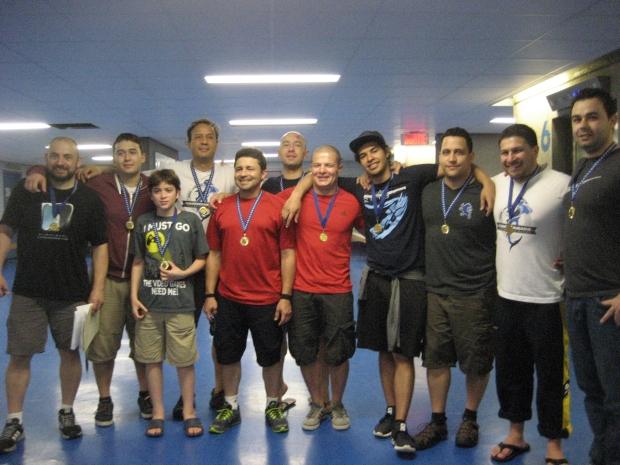 1st Place - Newark NJ Hammerheads